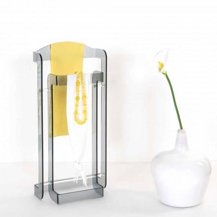 Modern design Servomuto plexiglas rökt Mose, tillverkad i Italien