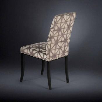 September 2 stoppade moderna stolar med träben i svart Audrey