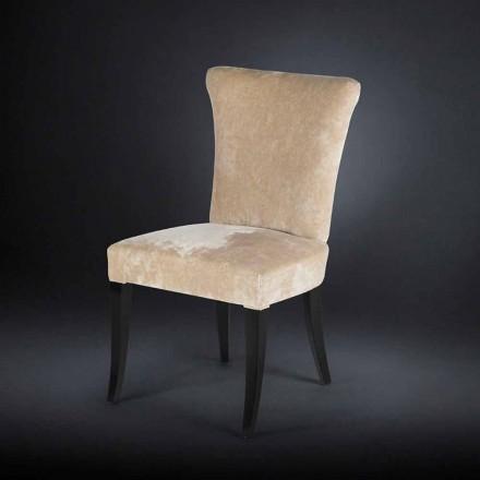 September 2 vackra stil stolar stoppade époque färg Ecru Fingers