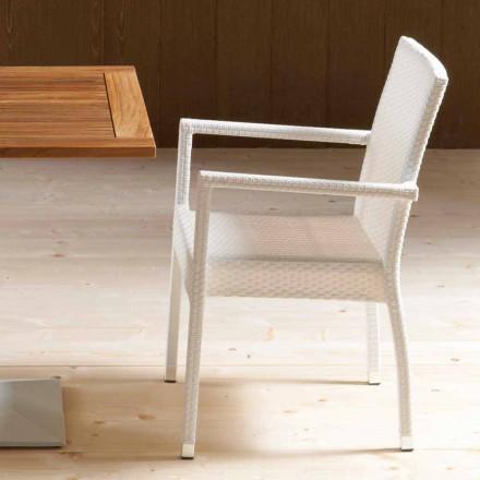 September 4 moderna stolar från trädgården Portorotondo