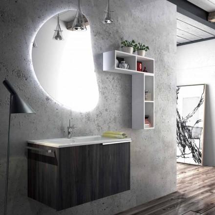 Hängande badrumsmöbler komposition gjord i Italien, Sad