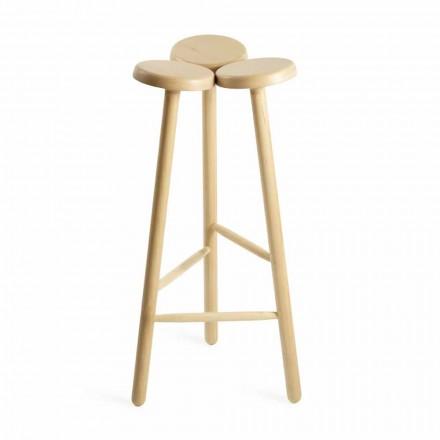 Hög barstol eller köksbänk i ask tillverkad i Italien - Lottie