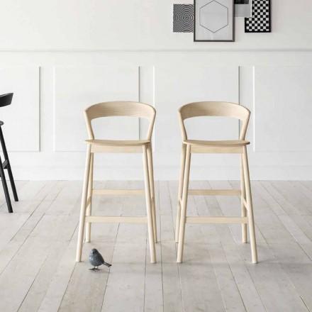 Hög kökspall med askträskonstruktion Tillverkad i Italien - Oslo