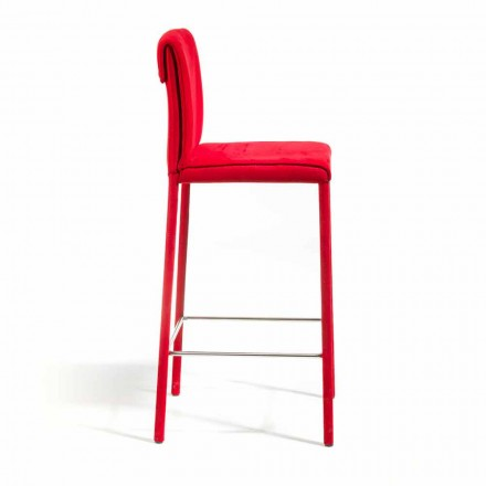 Modern design barstol Amos, handgjord i Italien