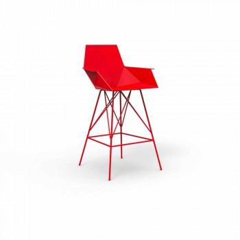 Faz Vondom utomhusstol med armar H 111 cm i polypropen