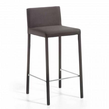 Modern designstol med Alwyn H 86 cm tillbaka, tillverkad i Italien