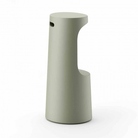 Pall med hög design i matt polyeten för utomhusbruk Tillverkad i Italien - Forlina