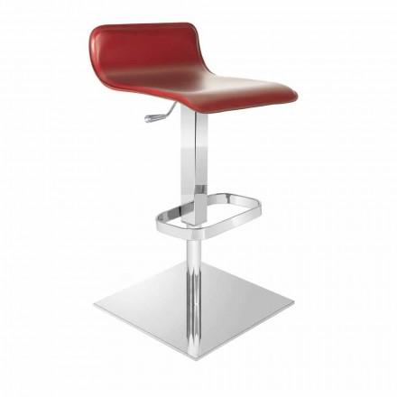 Designstol med justerbart säte och Inigo krombas