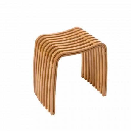 Gorizia varmböjd bambu designstol