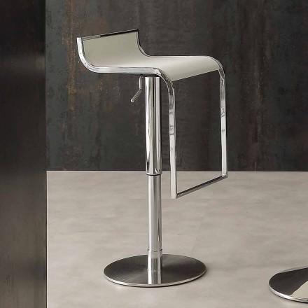 Modern designpall, täckt i Eco-läder - Arbore