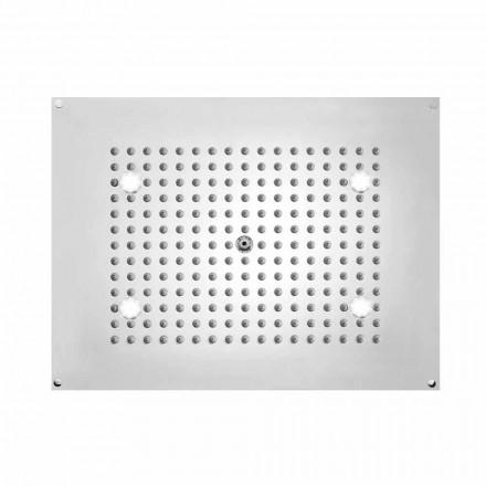 Dusch Bossini rektangulär med en stråle och LED-lampor