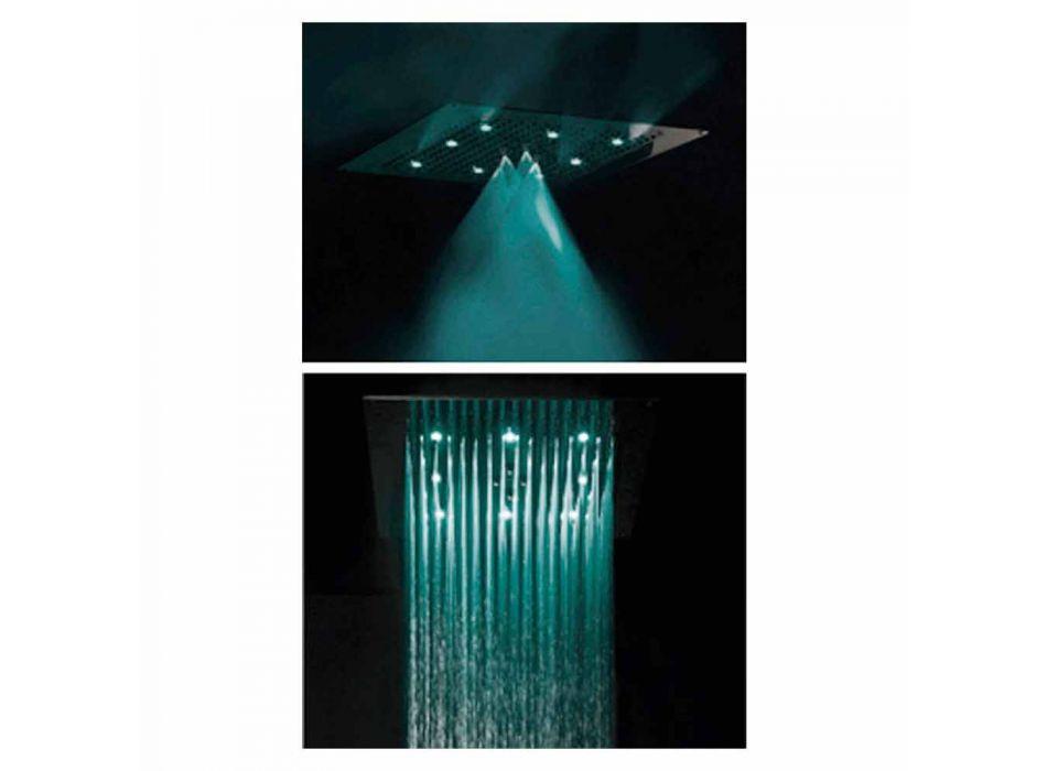 Takdusch huvud med LED två strålar Bossini dröm Neb