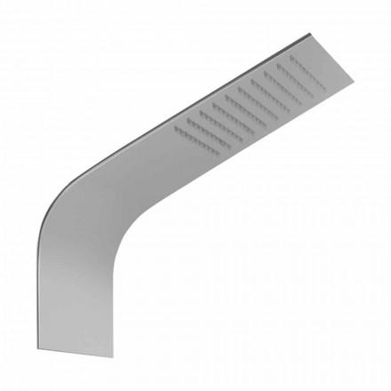 Slim Duschhuvud av stål med Rain Jet Made in Italy - Vispo