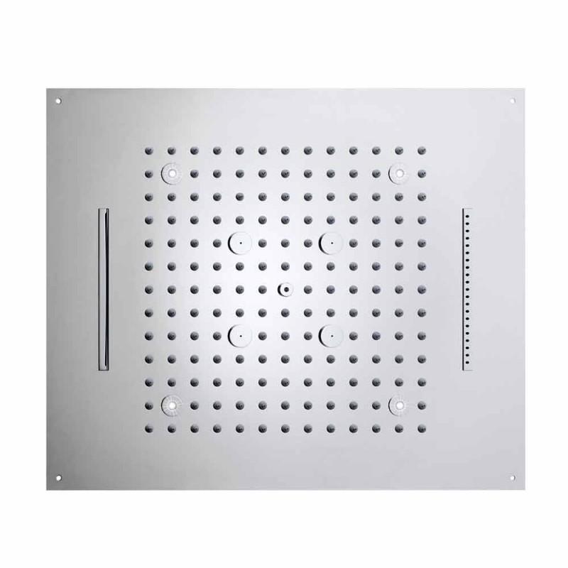 Moderna fyra-funktion duschmunstycke dusch med LED-lampor dröm