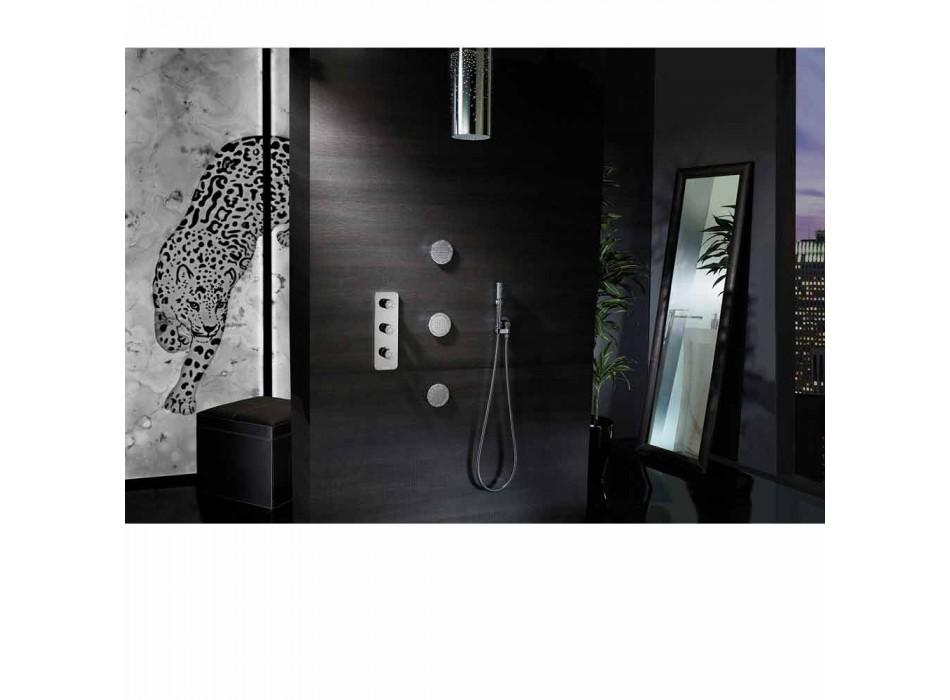 Dusch för den ursprungliga dusch med insatser Swarovski Bossini