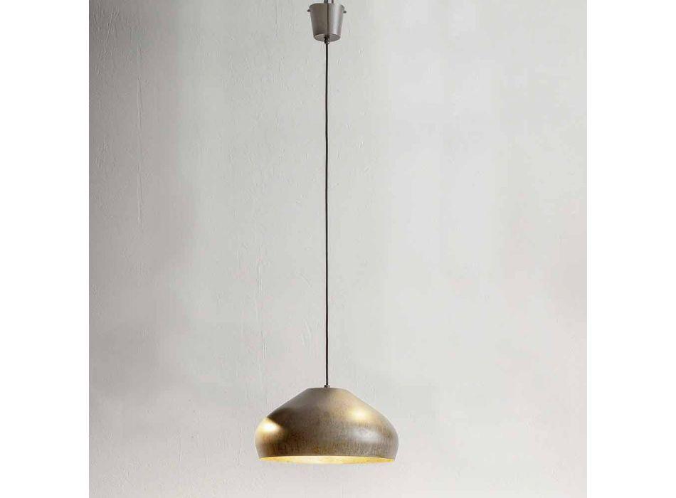 Antik stål design upphängningsdiameter 450 mm - Materia Aldo Bernardi