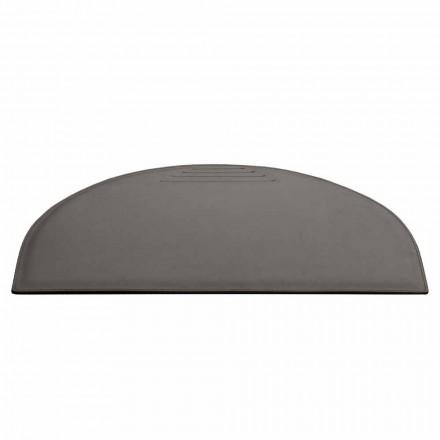 Läderbordsunderlägg med pennstoppsömnad Tillverkad i Italien - Medea