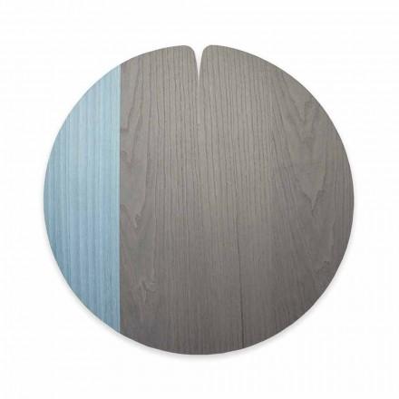 Modern Tablemat Tillverkad i Italien i naturligt äkta trä, 4 stycken - Stan