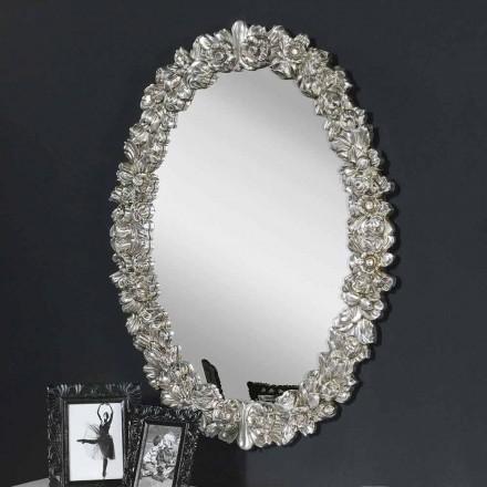 Moderna handgjorda spegelväggspegel tillverkad i Italien Filippo