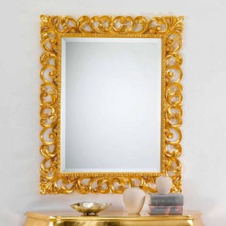 Spegel klassisk design med bladguld fullföljande Paris