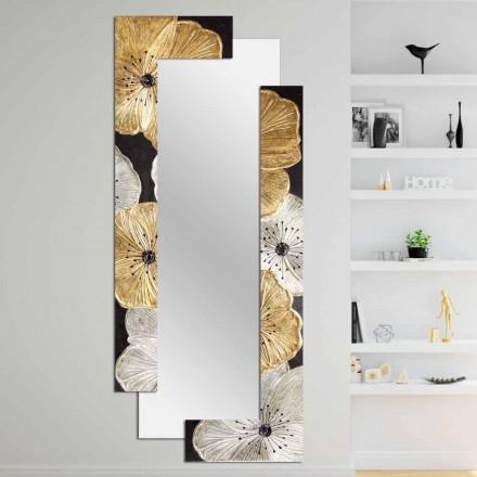 Dubbel vägg design spegel tillverkad i Italien av Daiano