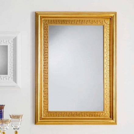 Spegel designer vägg med träram Viva, 96x132 cm