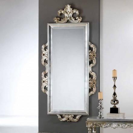 Mirror av Guy Design väggen, 118x240 cm, tillverkad i Italien