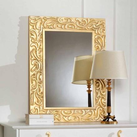 Spegel som Pepa 75x100 cm Designer golv, tillverkad i Italien