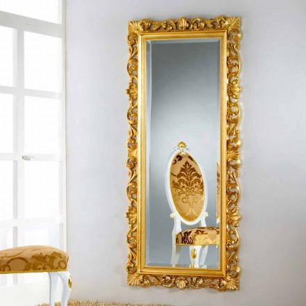 Mirror golv / väggkonstruktion med bladguld yta Mata