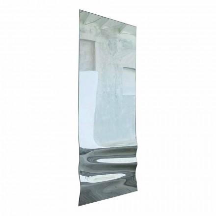 Design Mirror i Mirrored Crystal Finish Tillverkad i Italien - Athena