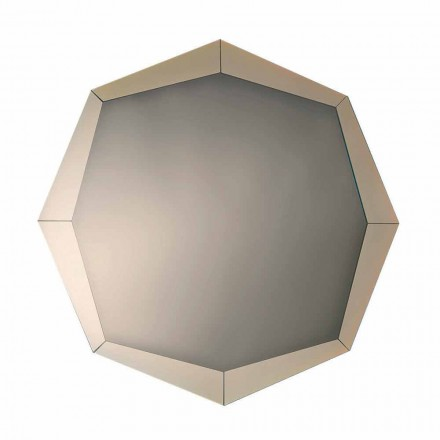 Design Mirror i Mirrored Crystal Finish Tillverkad i Italien - Bolina