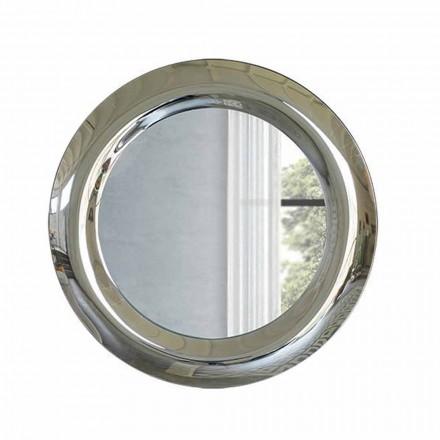 Modern Mirror in Mirrored Crystal Finish Tillverkad i Italien - Stilla