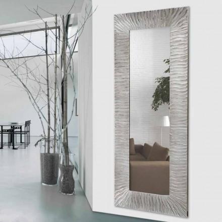 Väggdesignspegel Onde av Viadurini Inredning gjord i Italien