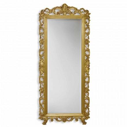 Spegelvägg ayous ved hand guld, silver i Italien Francesco