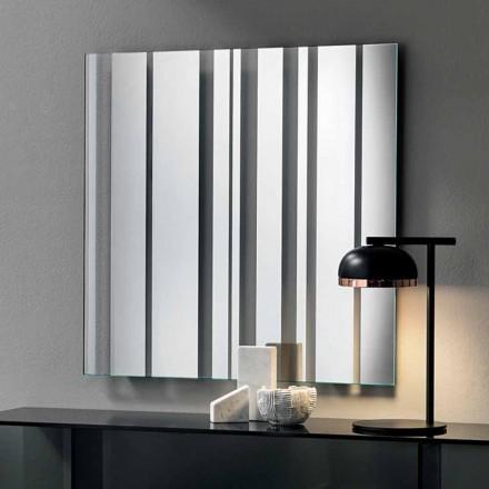 Väggspegel i modern design tillverkad i Italien - Coriandolo