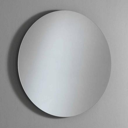 Rund bakgrundsbelyst väggspegel med LED Made in Italy - Ronda