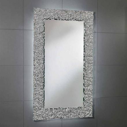 Spegel med dekoration ram i modern design glas, Cecilia