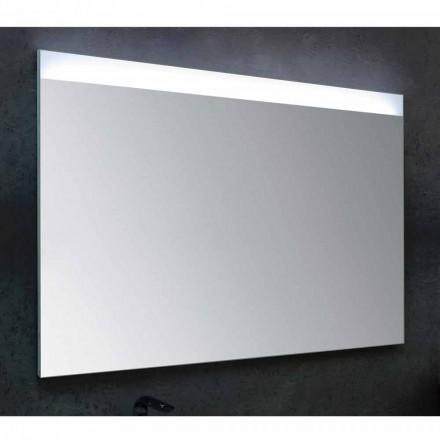 Badrumsspegeln med modern design LED-belysning Yvone
