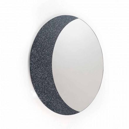 En vägg spegel 100% Made in Italy modern design Aldo