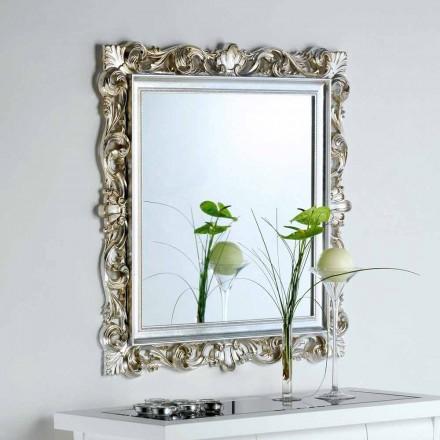 designer spegel med dekorerade ram Marsy, 98x98 cm