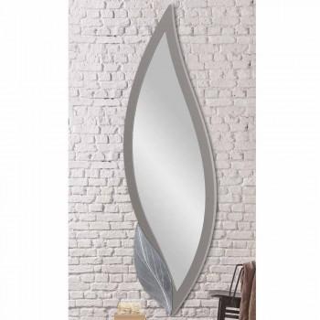 Väggspegelformad modernt duvgrå lackerat gjort Italien Sagama