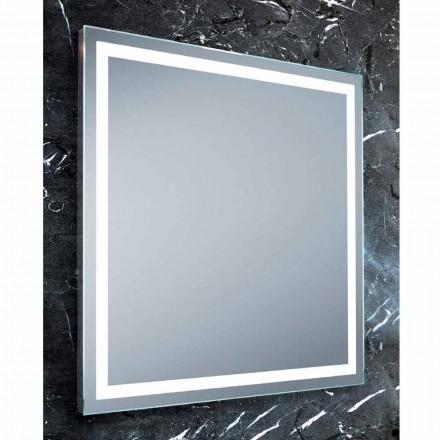 Mirror modern design badrum med LED-belysning Paco