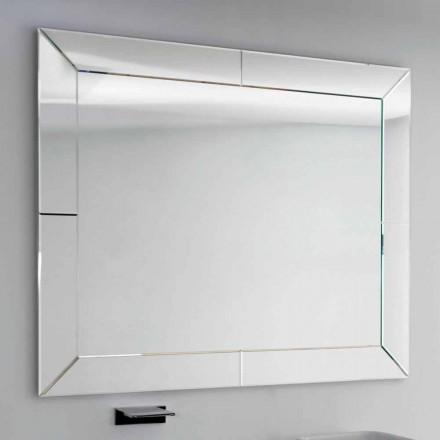 Mirror bundna kanten modern mark, H120 x L120CM, Daedalus