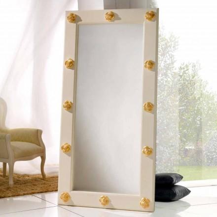 Vertikala spegeln golv / vägg med Abel dekorationer, handgjorda