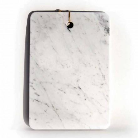 Tillverkad i Italien Designskärbräda i Carrarra White Marble - Masha