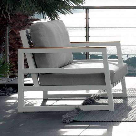 Talenti Alabama design trädgård fåtölj tillverkad i Italien