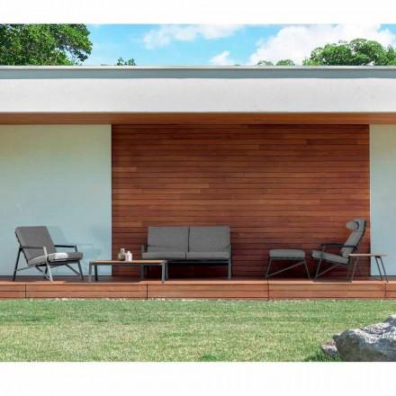 Talenti Cottage modern trädgårdsvardagsrumssammansättning tillverkad i Italien
