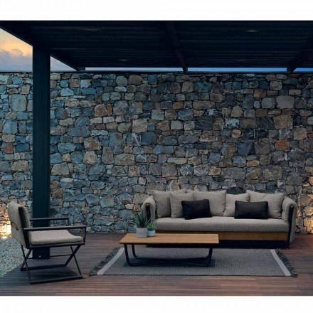 Talenti Domino design trädgård lounge sammansättning tillverkad i Italien