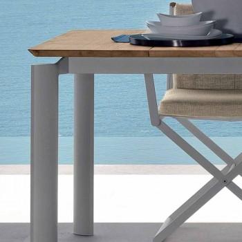 Talenti Domino utdragbart trädgårdsbord 200 / 260cm tillverkat i Italien
