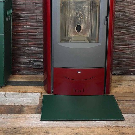 Lädermatta för spis / spis spis Virgilio Tillverkad i Italien